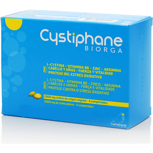 BIORGA Cystiphane Cystine B6 Bailleul Zinc120 ταμπλέτες