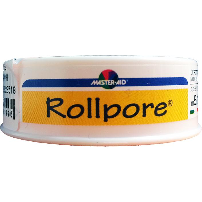 MASTER AID Rollpore Ρολό Χάρτινο 5m x 1.25cm
