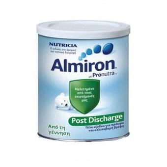 ALMIRON Post Discharge, Γάλα για Πρόωρα ή/και Λιποβαρή Βρέφη - 400gr