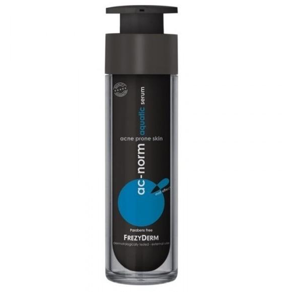 FREZYDERM Ac-Norm Aquatic Serum - Ενυδατικός Ορός Για Πρόσωπο Με Ακμή 50ml