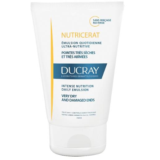 DUCRAY Emulsion Ultra Nutritive Nutricerat Προστατευτικό Γαλάκτωμα για Ξηρά  Μαλλιά 100ml 6355f316184