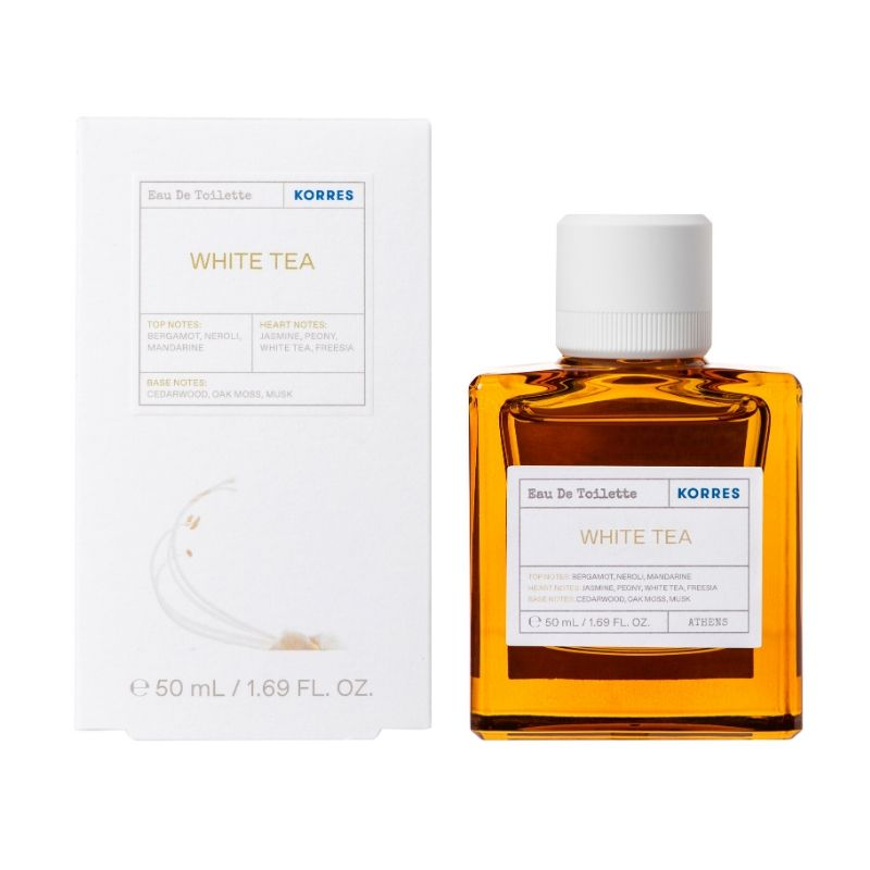 KORRES Eau De Toilette White Tea - 50ml
