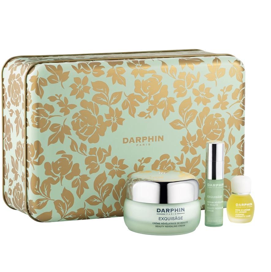DARPHIN Exquisage Box Set, Exquisage Beauty Revealing Cream -50ml & Beauty Revealing Serum - 4ml & Jasmine Aromatic Care - 4ml