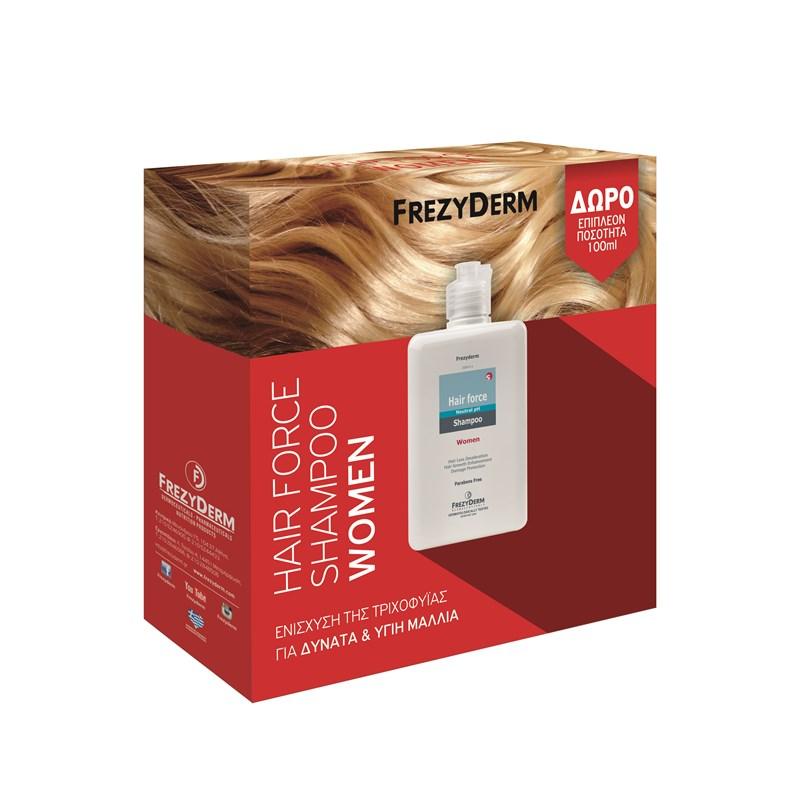 FREZYDERM PROMO Hair Force Shampoo Women 200+100ml