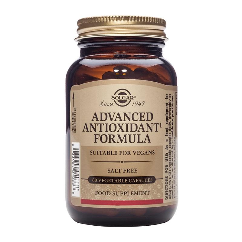 SOLGAR Advanced Antioxidant Formula - 60caps