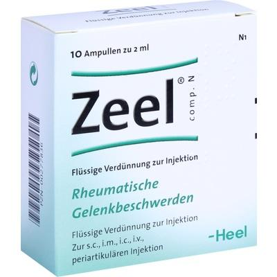 HEEL ZEEL Comp N - 10 Ενέσιμες Αμπούλες