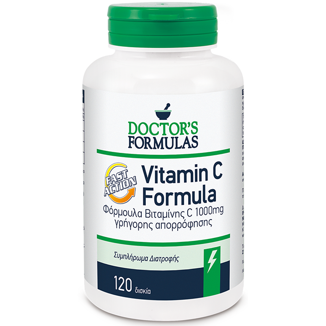 DOCTOR΄S FORMULAS Vitamin C Fast Action 1000mg 120tabs
