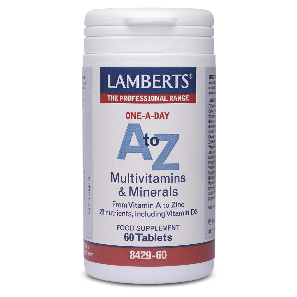 LAMBERTS A to Z Multi Vitamins 60tabs