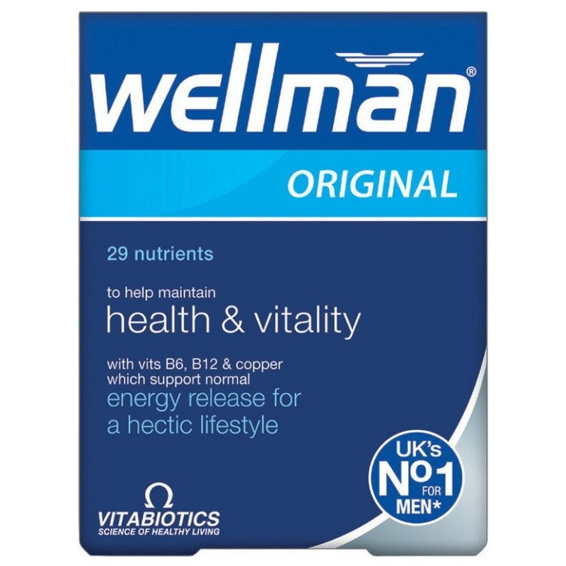 VITABIOTICS Wellman Original - 30tabs
