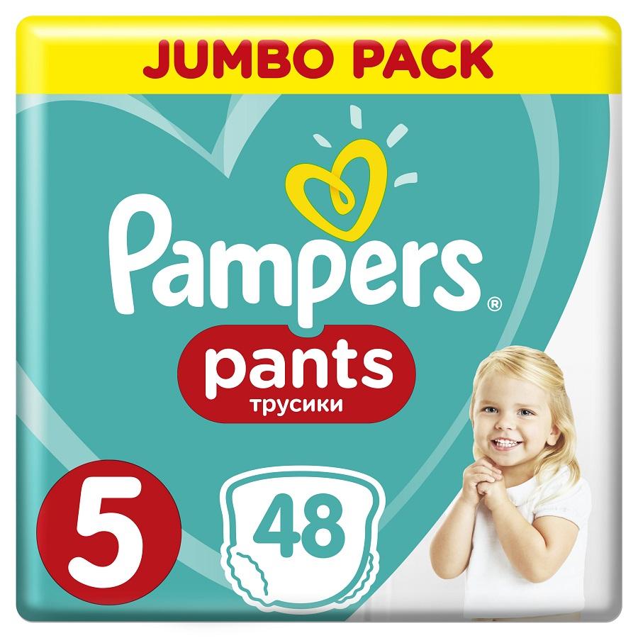 PAMPERS Pants No 5, 12-17kg Jumbo Pack - 48τμχ