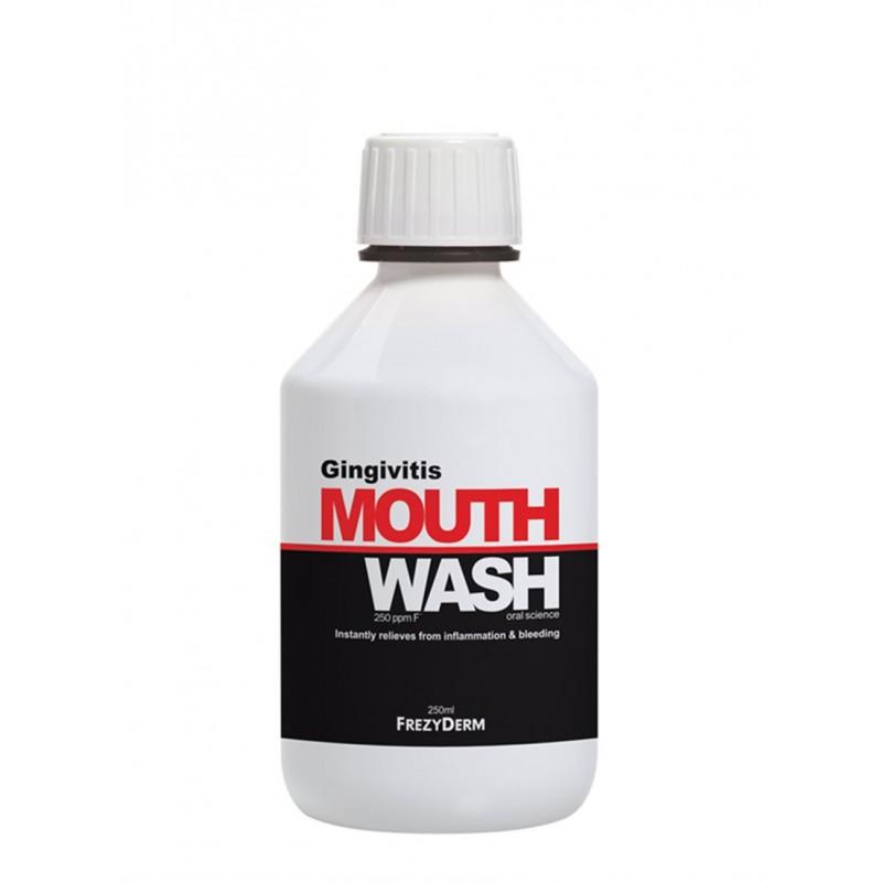 FREZYDERM Gingivital Mouthwash, Στοματικό Διάλυμα Κατάη της Ουλίτιδας -  250ml