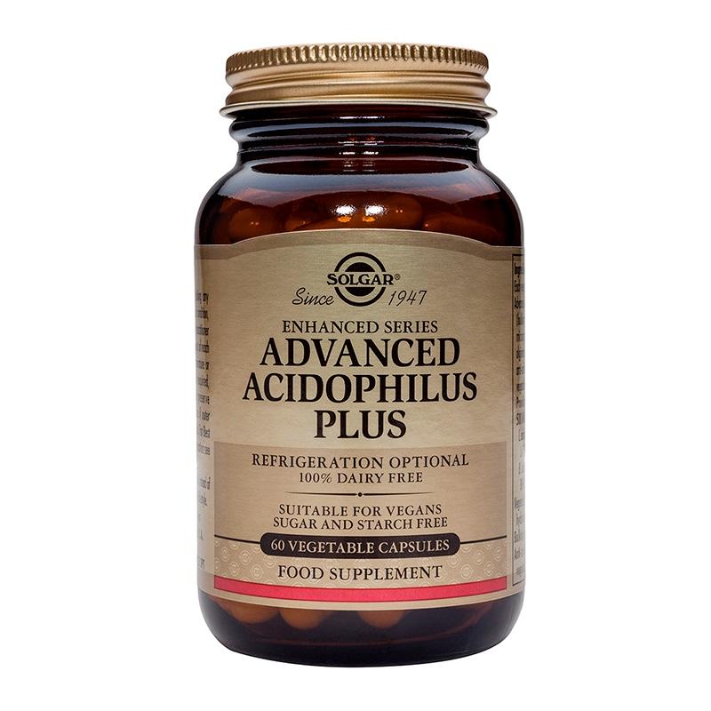 SOLGAR Advanced Acidophilus Plus - 60veg.caps