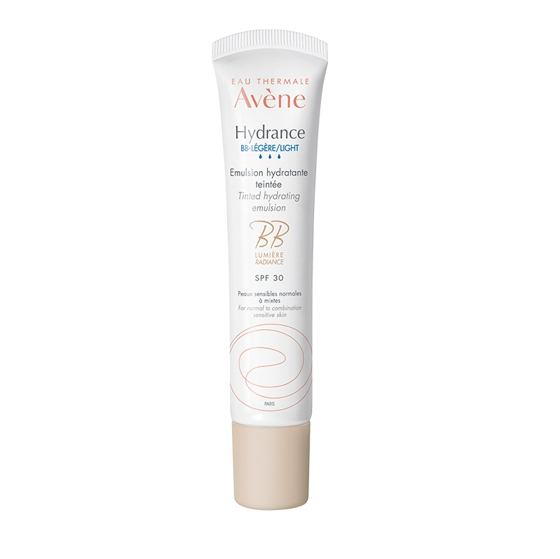 AVENE Hydrance BB Lumière - Légère Crème SPF30, Αφυδατωμένο, Κανονικό- Μικτό  Δέρμα - 40ml