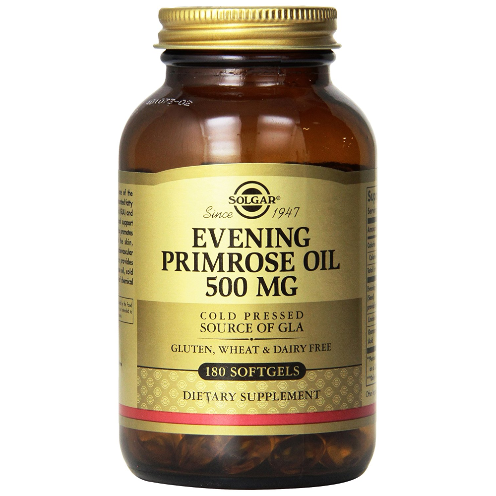 SOLGAR Evening Primrose Oil 500mg - 180softgels
