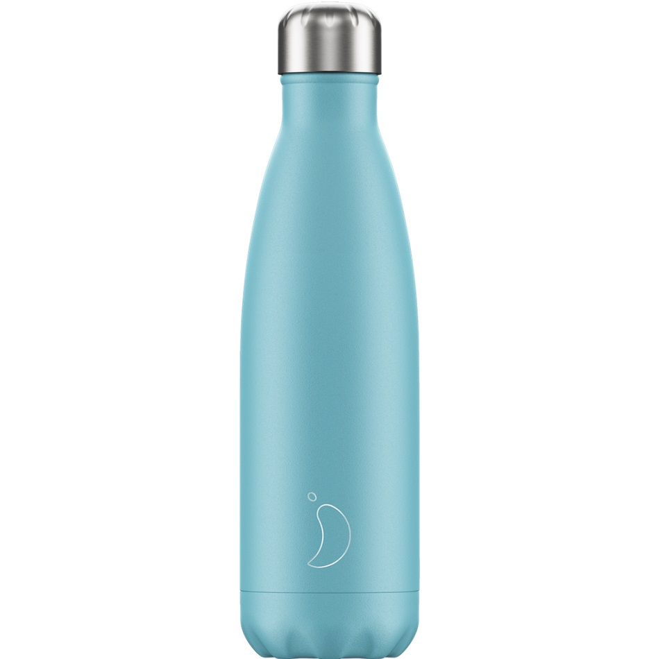 CHILLYS BOTTLES Μπουκάλι- Θερμός, Pastel Blue - 500ml