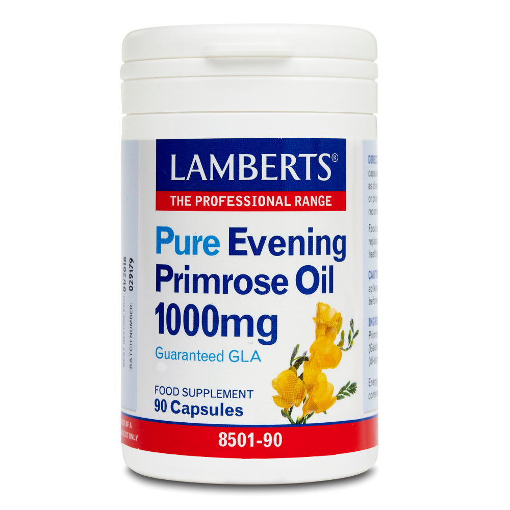 LAMBERTS Evening Primrose Oil 1000mg 90caps
