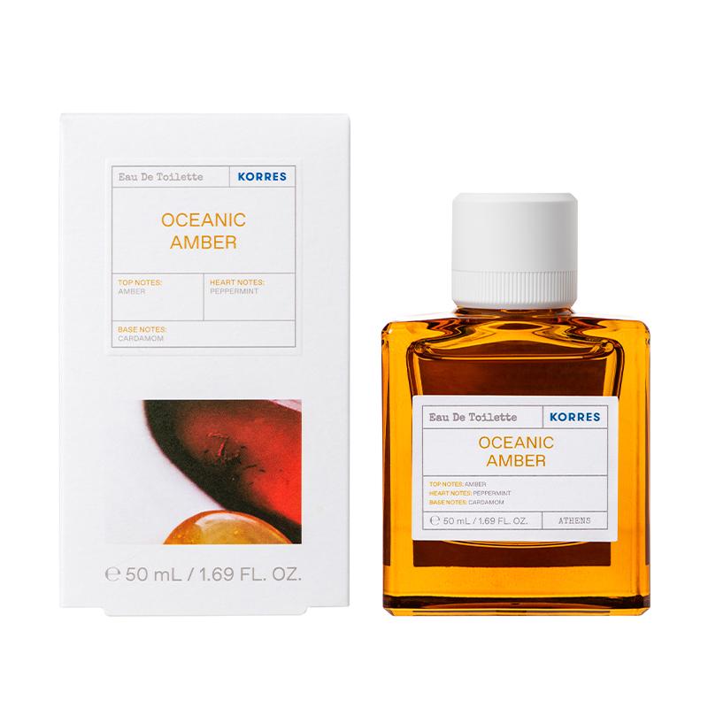 KORRES Eau De Toilette, Oceanic Amber - 50ml