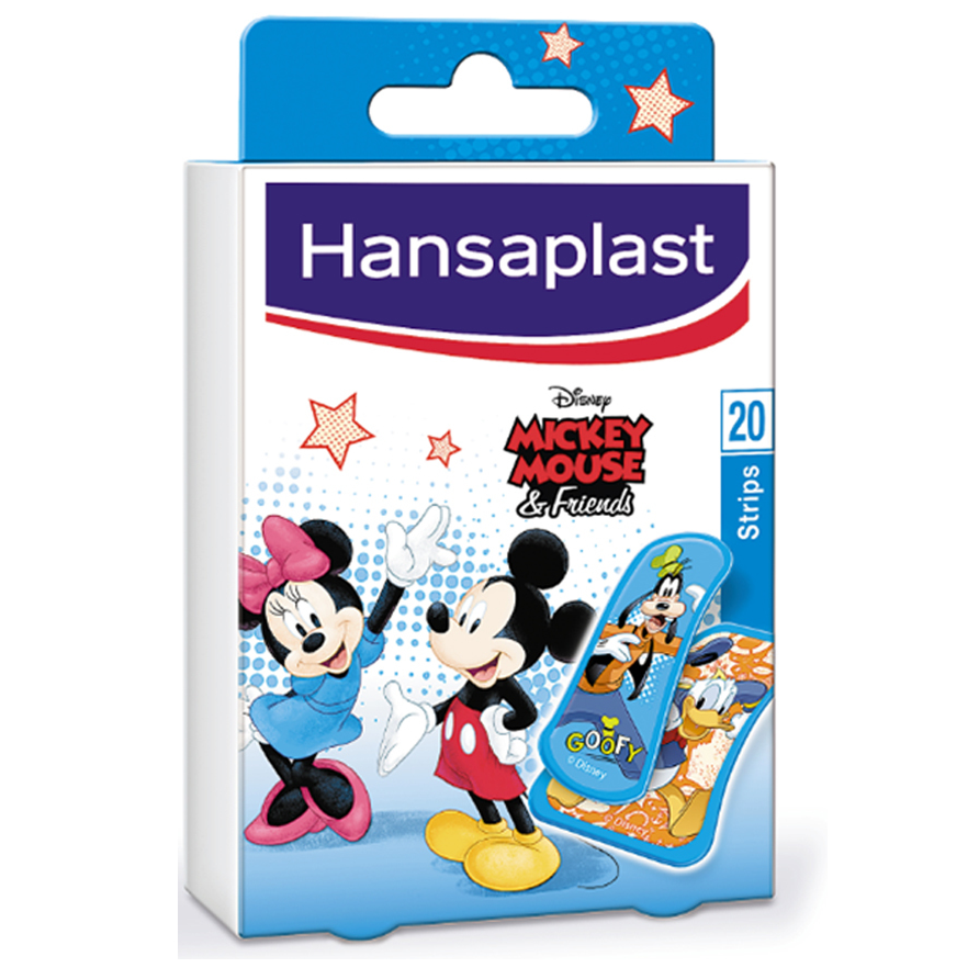 HANSAPLAST Mickey & Friends Strips 20τμχ