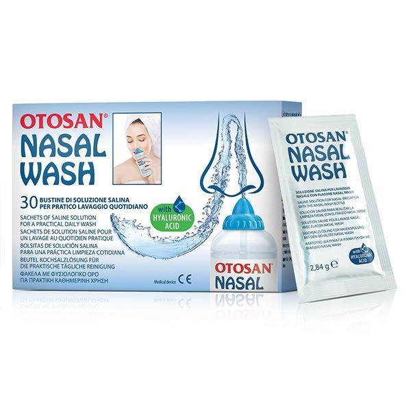 OTOSAN Nasal Wash, Φάκελοι με Φυσιολογικό Ορό για Ρινικές Πλύσεις - 30 φάκελοι