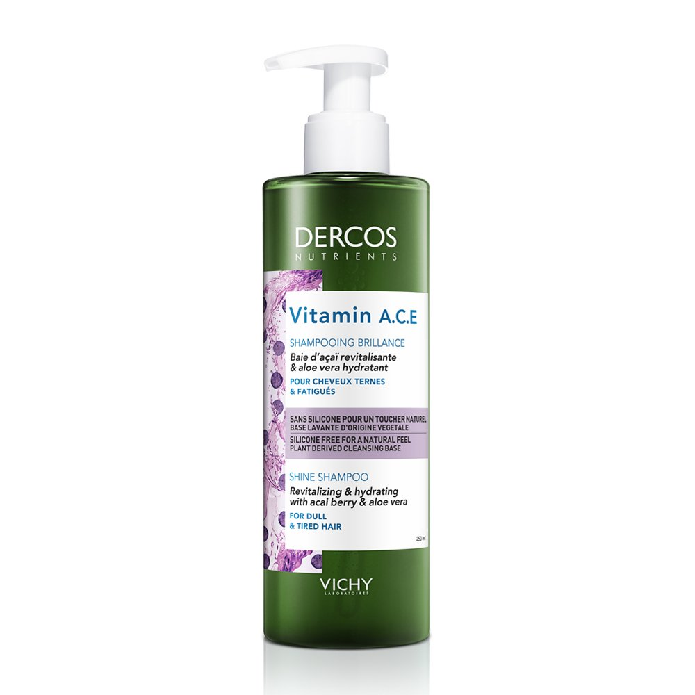 VICHY Dercos Nutrients Vitamin A.C.E Shampoo 250ml