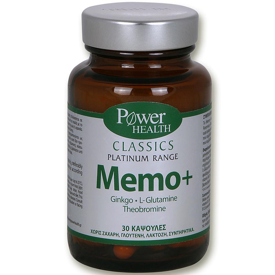 POWER HEALTH Classics Platinum Memo+ 30caps