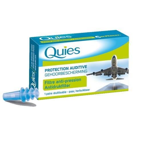 QUIES EarPlanes, Ωτοασπίδες ειδικές για Αεροπορικά Ταξίδια - 1 ζεύγος