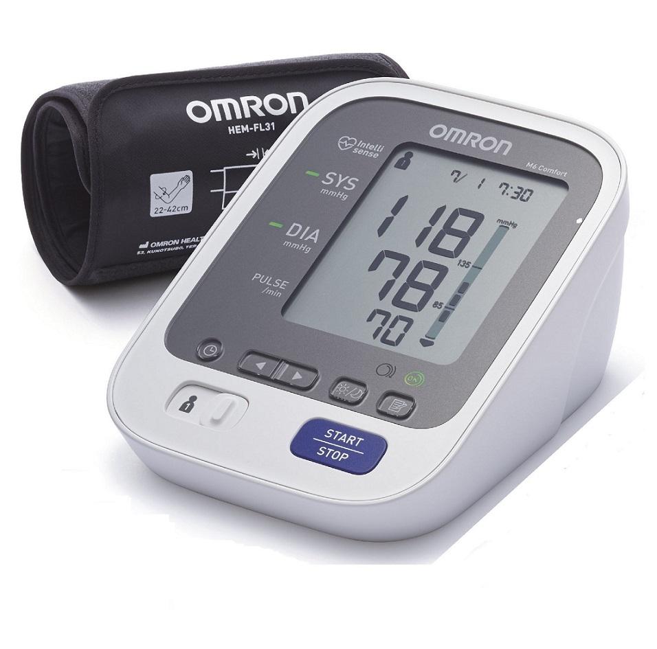 OMRON M6 Comfort Intellisense, Υπεραυτόματο Πιεσόμετρο Μπράτσου HEM-7321