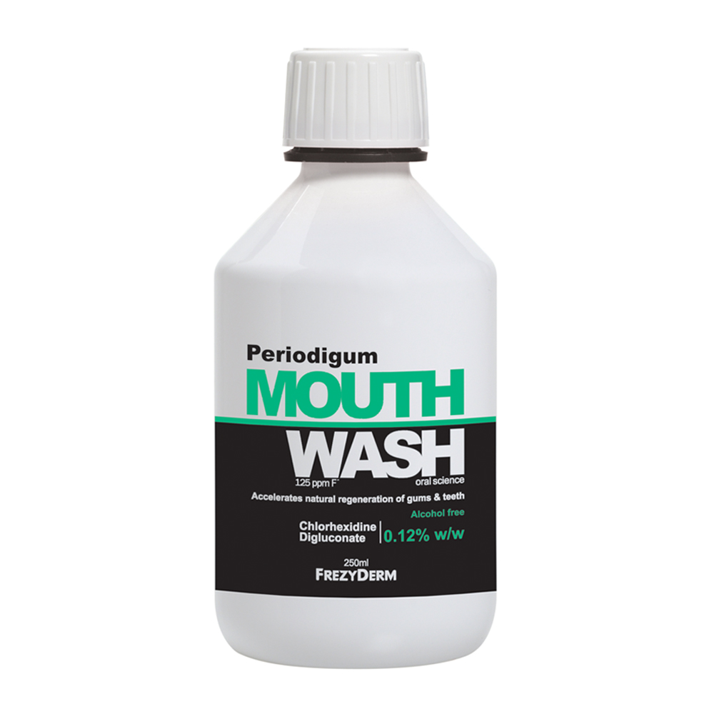 FREZYDERM Periodigum Mouthwash ,Στοματικό Διάλυμα κατά της Περιοδοντίτιδας - 250ml