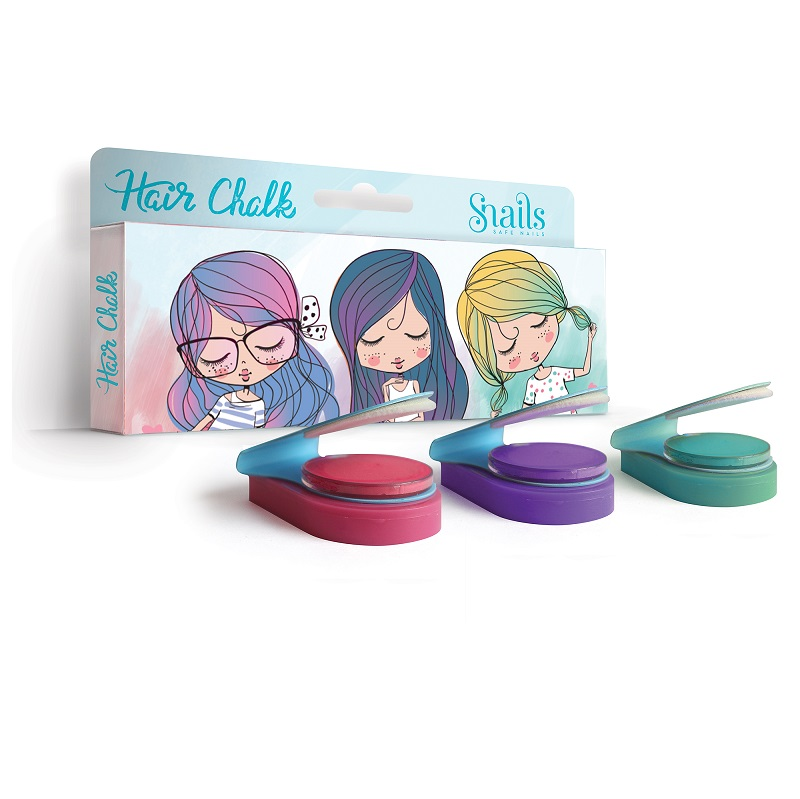 SNAILS Hair Chalk Pack Of 3