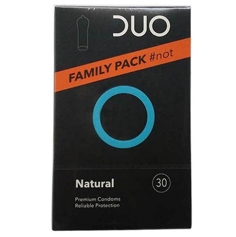 DUO Natural Family Pack - 30τμχ