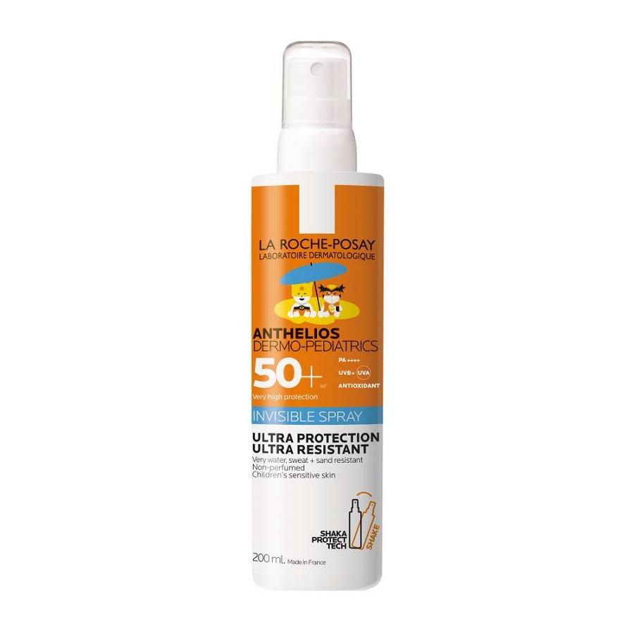 LA ROCHE POSAY Anthelios Dermopediatrics Invisible spray SPF50, Παιδικό Αντηλιακό Σπρέι - 200ml