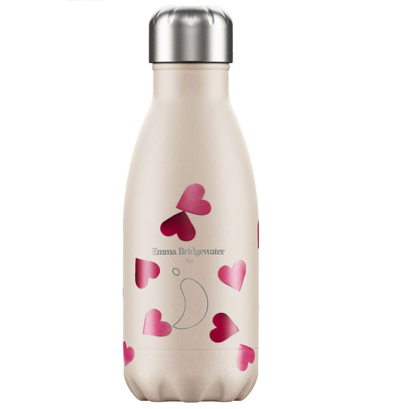 CHILLYS BOTTLES Μπουκάλι- Θερμός E.B Hearts - 260ml