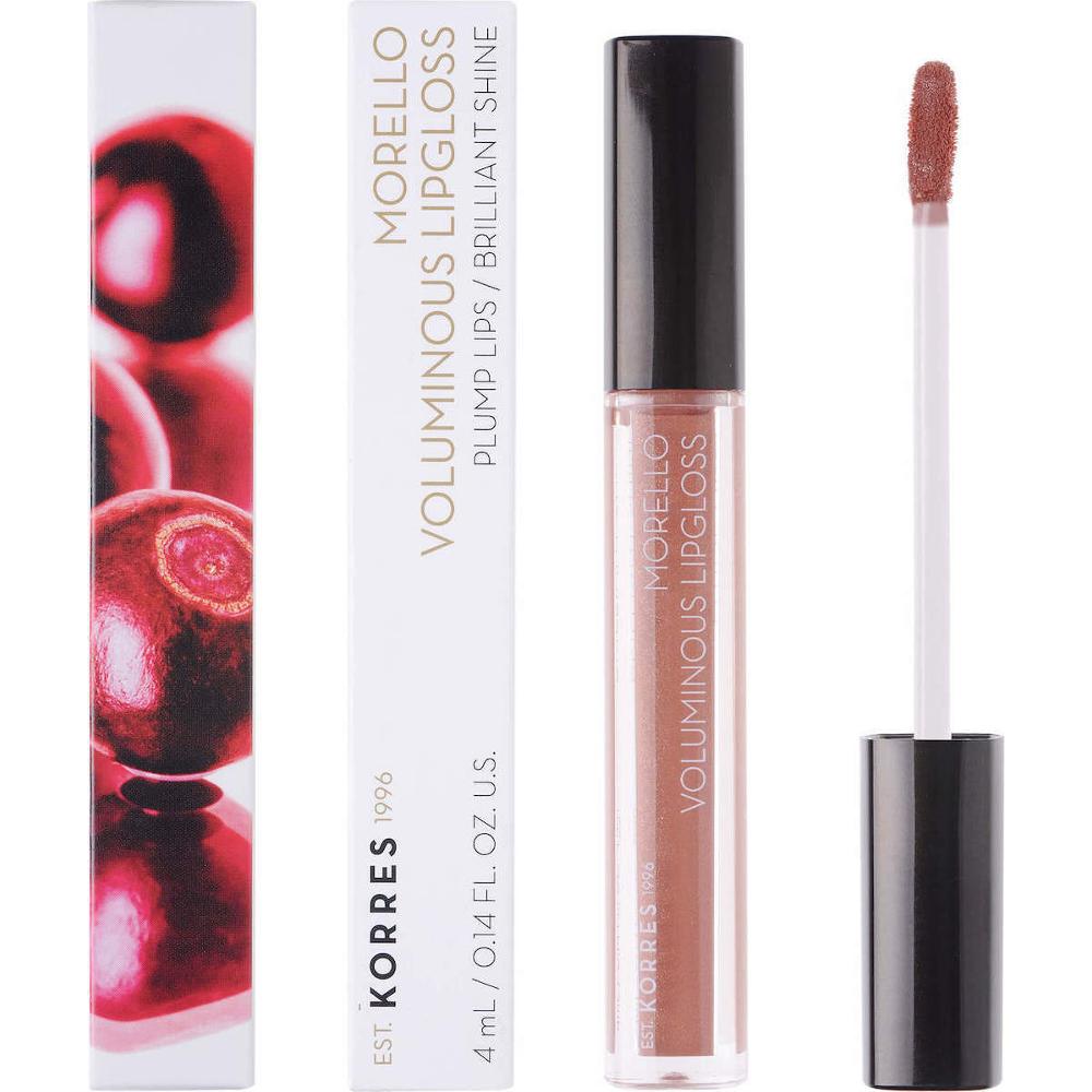 KORRES Morello Voluminous Lip Gloss 31 Bronze Nude 4ml