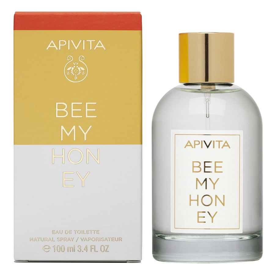 APIVITA Bee My Honey, Eau De Toilette - 100ml