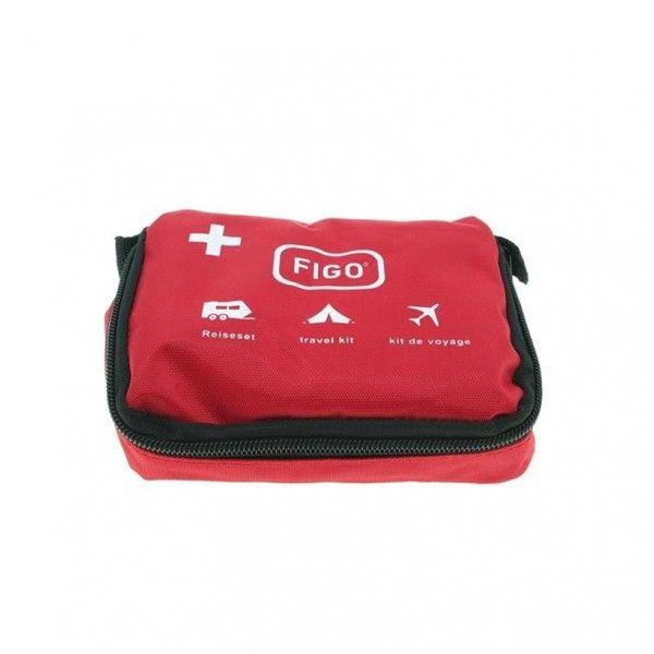 FIGO First Aid Set 39pcs, Φορητό Τσαντάκι Πρώτων Βοηθειών με 39 τεμάχια
