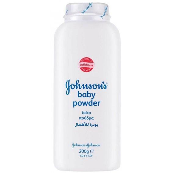 JOHNSONS Baby Powder Βρεφική Πούδρα 200g