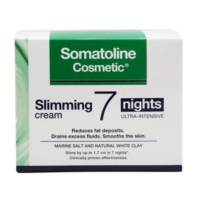 SOMATOLINE COSMETIC Slimming Creme, Εντατικό Αδυνάτισμα 7 Νύχτες - 250ml