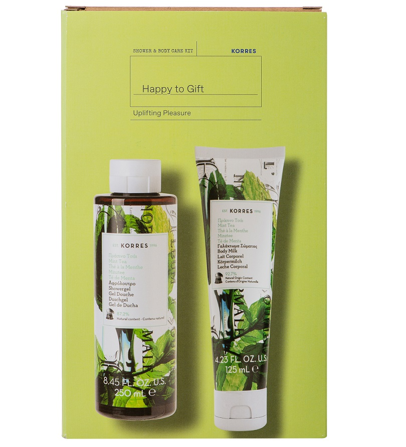 KORRES Σετ Αφρόλουτρο Πράσινο τσάϊ - 250ml & Γαλάκτωμα σώματος - 125ml