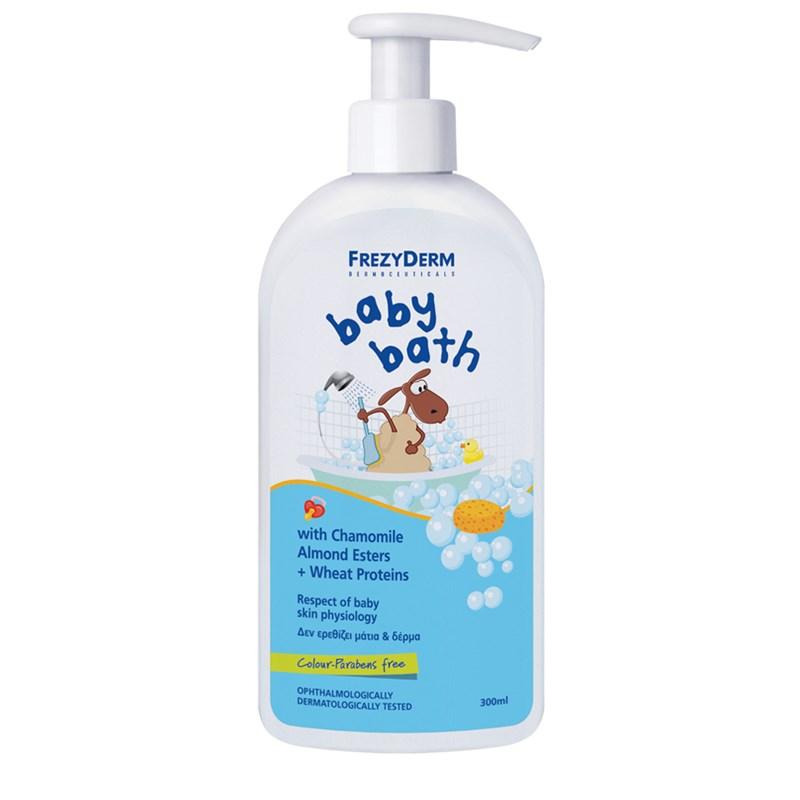 FREZYDERM Baby Bath με Χαμομήλι 300ml