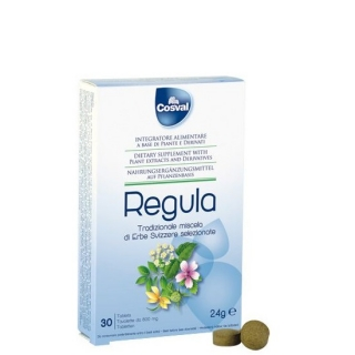 COSVAL Regula, Φυτικό Συμπλήρωμα για την Αντιμετώπιση της Δυσκοιλιότητας - 30 tabs