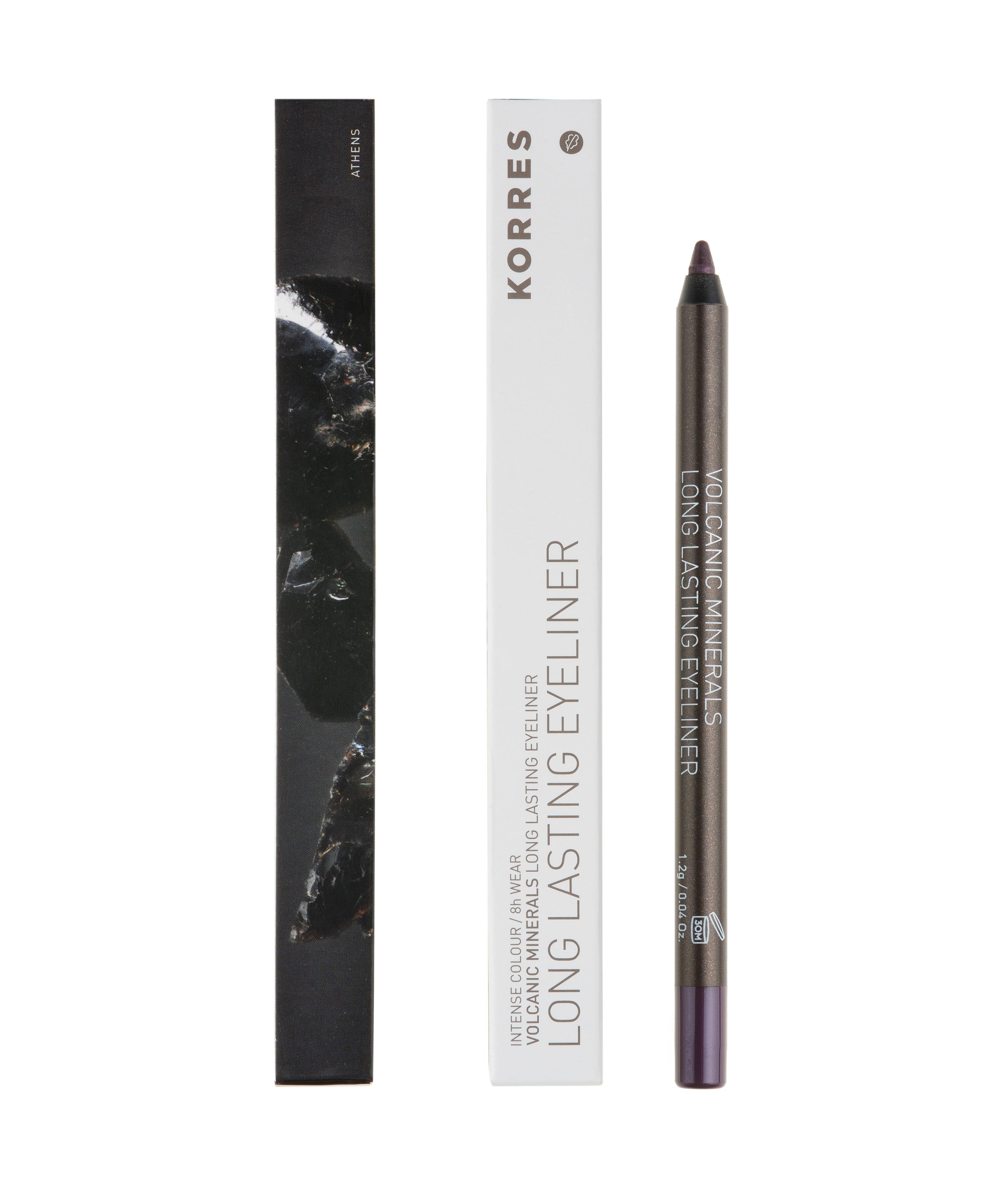 KORRES Long Lasting Eyeliner Volcanic Minerals 04 Purple 1.2gr