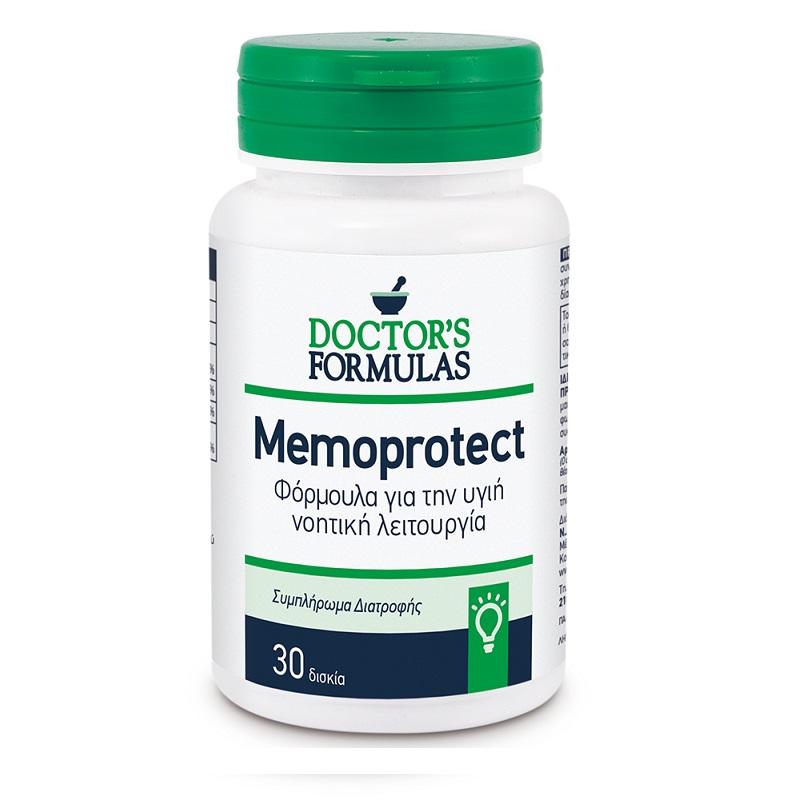 DOCTORS FORMULAS Memoprotect, Νοητική Λειτουργία - 30δισκία