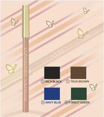COVERDERM Perfect EyeLiner, Μολύβι Ματιών, no. 4 Forest Green - 1,5 gr