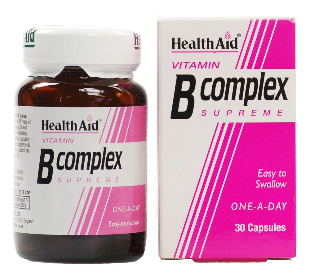 HEALTH AID B Complex Supreme - 30caps