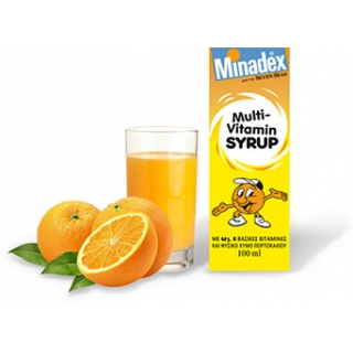 MINADEX multi vitamin syrup 100ml