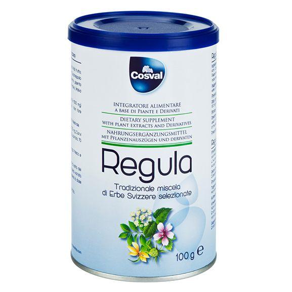 COSVAL Regula Powder, Φυτικό Συμπλήρωμα για την Αντιμετώπιση της Δυσκοιλιότητας - 100 gr