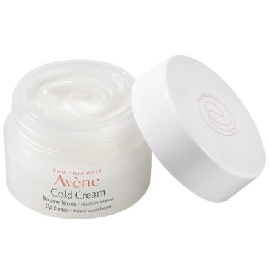 AVENE Cold Cream Baume Lèvres Nutrition Intense Pot Ενυδάτωση των Χειλιών 10ml