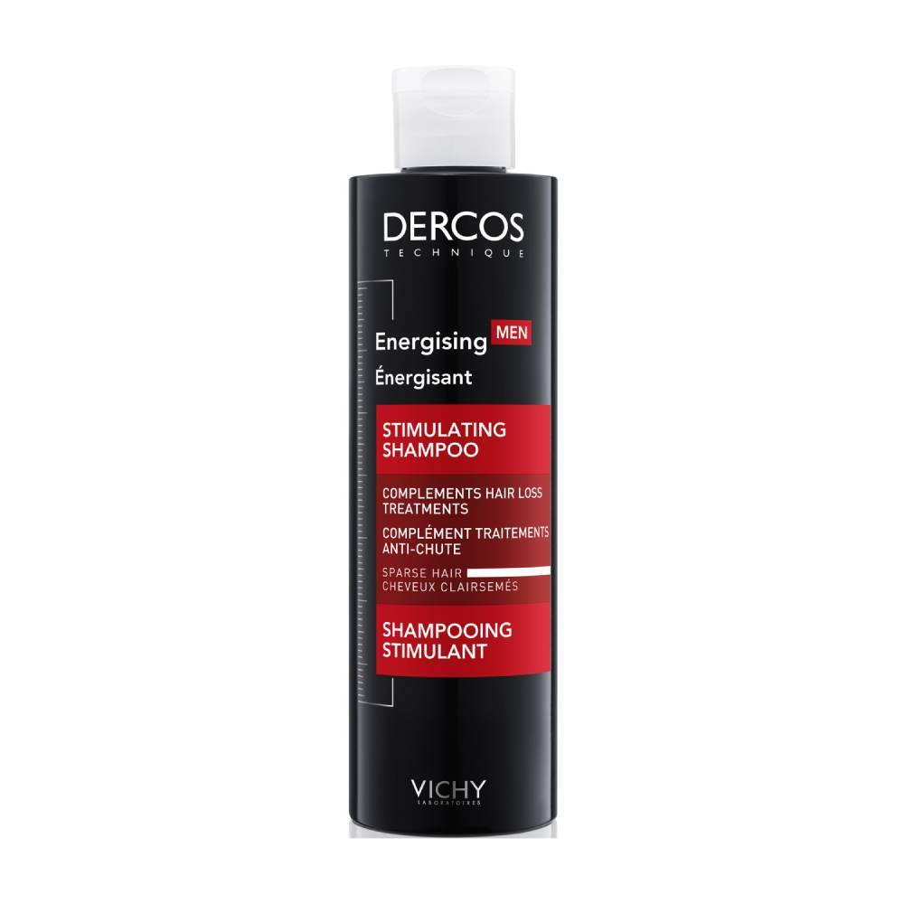 VICHY Dercos Aminexil Men Stimulating Shampoo, Δυναμωτικό Σαμπουάν - 200ml