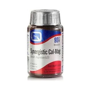 QUEST Synergistic Cal-Mag Calcium, Magnesium & D3 - 90tabs