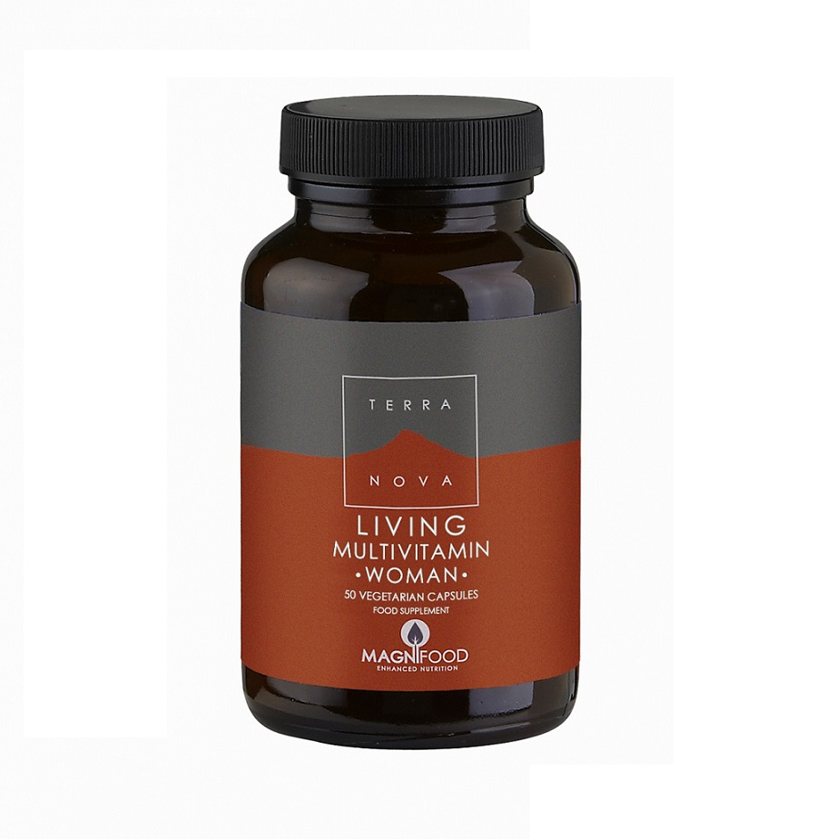 TERRANOVA Living  Multivitamin Woman - 50veg.caps